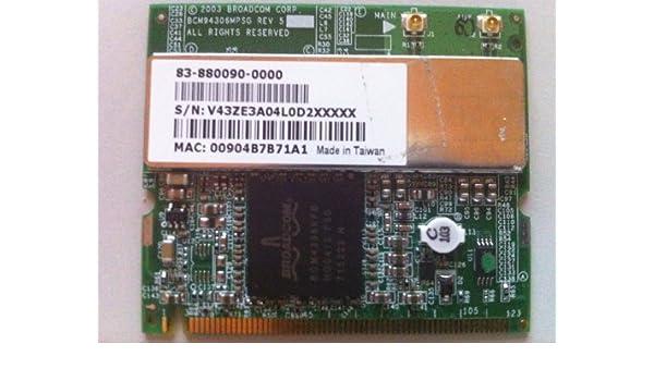Dell Precision M20 Wireless 1350 WLAN MiniPCI Card Treiber Windows 10