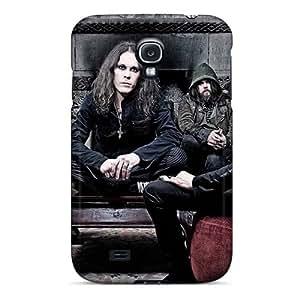 EricHowe Samsung Galaxy S4 Bumper Hard Phone Case Custom Realistic His Infernal Majesty Band HIM Skin [odW15525pETf]