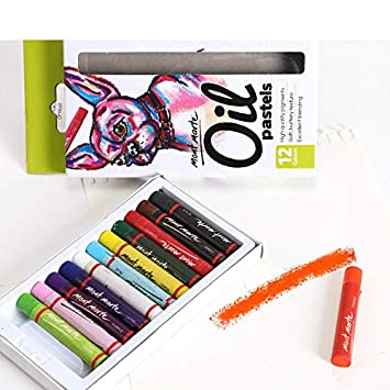 Aceite Pastel -12/24 Color Aceite Pastel 12 Colores: Amazon ...