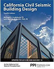 PPI California Civil Seismic Building Design, 12th Edition – Comprehensive Guide on Seismic Design for the California Civil Seismic Principles Exam