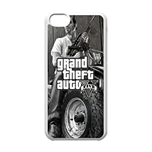 iPhone 5C Phone Case Printed With Grand Theft Auto Images