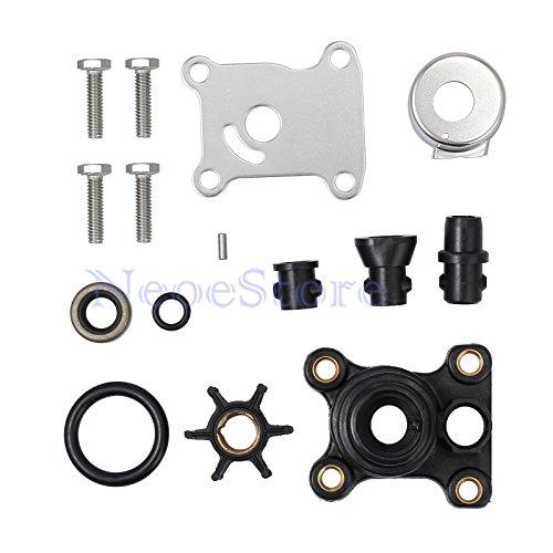 Water Pump Impeller Repair Kit 9.9hp & 15hp for Johnson/Evinrude 394711 0394711 ()