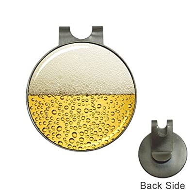 Beer Golf Ball Marker Hat Clip