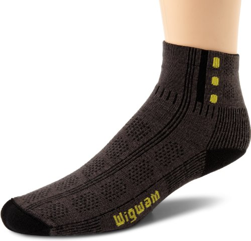 - Wigwam Men's Rebel Fusion Trekker Socks,Smoke,Large/shoe Size:Men's 9-12,Women's 10-13