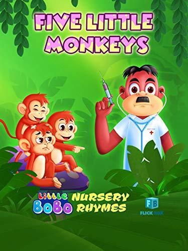 Five Little Monkeys Nursery Rhymes