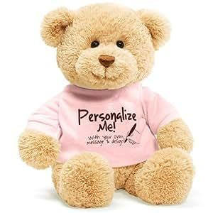 GUND Gund personalizado me T-shirt mensaje Oso Teddy Bear (rosa) (jap?n importaci?n)