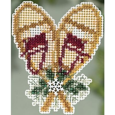 (Snowshoes Winter Holiday Collection Counted Cross Stitch Kit-2.75x2.75 14 Count)