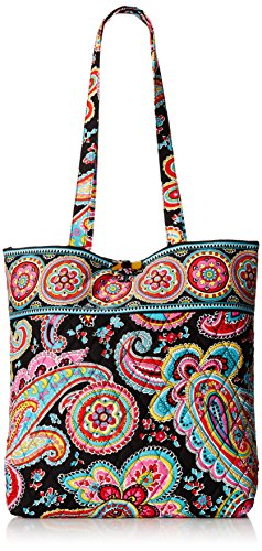 Vera Bradley Tote 2 Shoulder Bag Parisian Paisley One Size