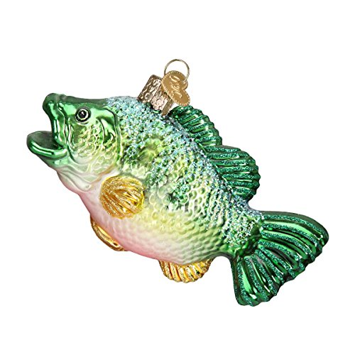 Old World Christmas Largemouth Bass Glass Blown Ornament - Fish Christmas Ornament: Amazon.com
