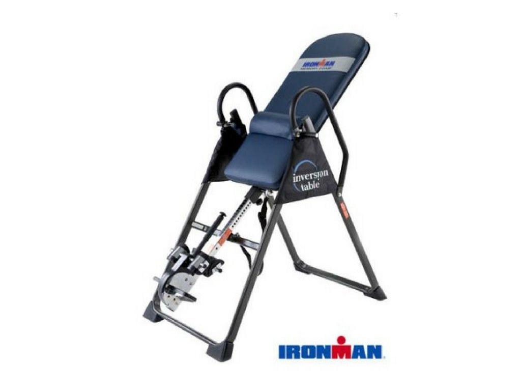 IRONMAN Gravity 4000 Highest Weight Capacity Exercise Fitness Inversion Table