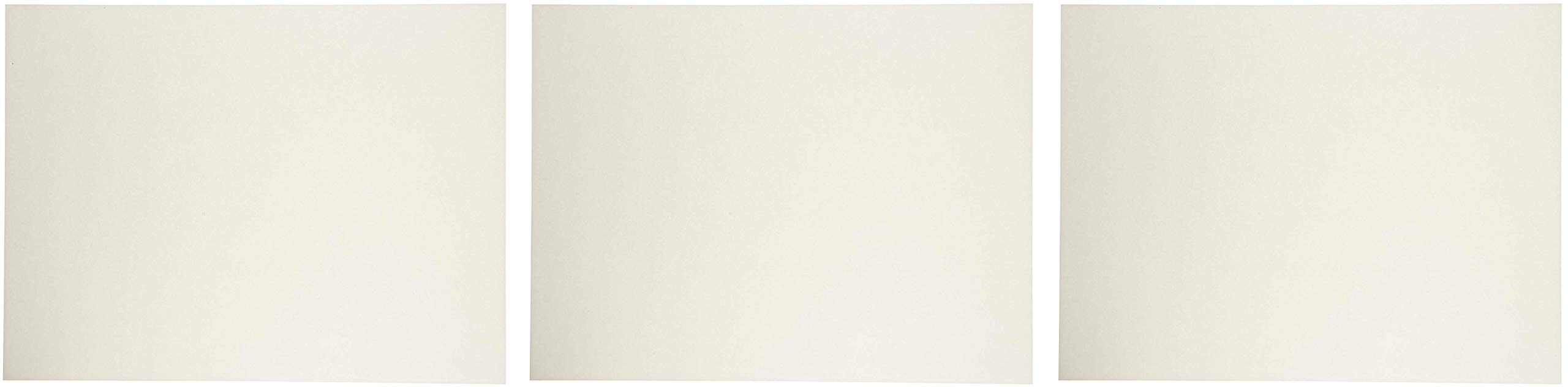 Sax Watercolor Paper, 18 x 24 Inches, 90 lb, Natural White, 50 Sheets (3 X Pack of 50)