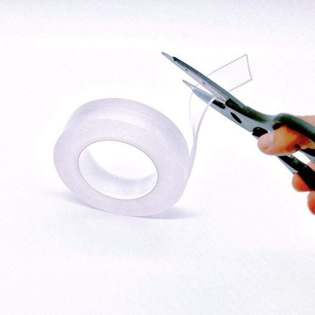 ailler Multi-Functional Double-Sided Self Adhesive Nano-Adhesive Residue-Free Tape Roll Glue Gun Sticks