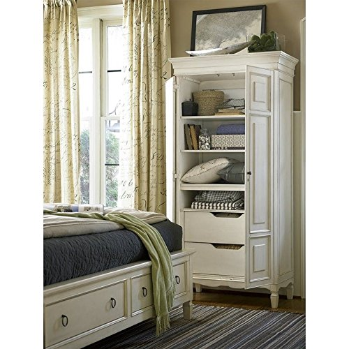 Universal Furniture Summer Hill Tall Cabinet in Cotton