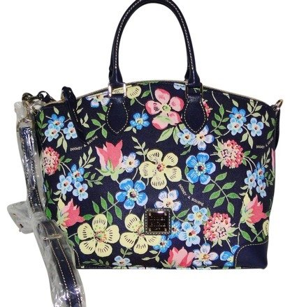 Dooney & Bourke Floral Satchel/Shoulder Bag by Dooney & Bourke