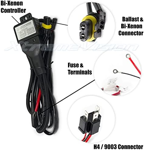 XtremeVision Bi Xenon Controller Battery Harness product image