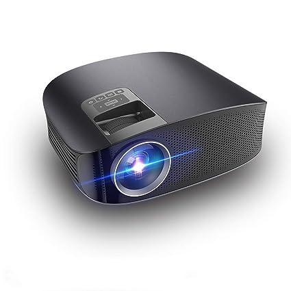 Mhwlai Proyector portátil, HD Micro proyector LED Full HD ...