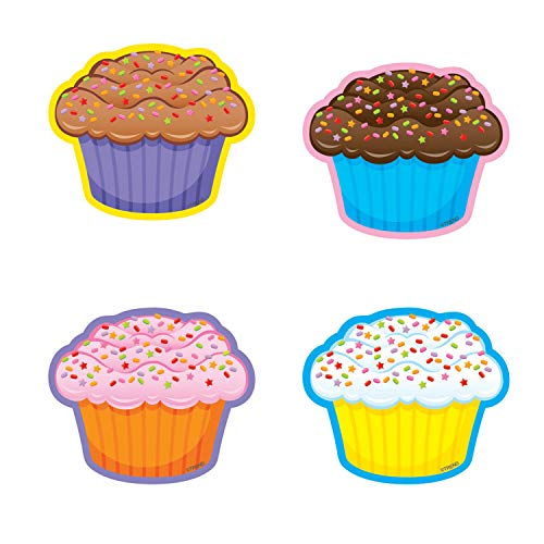 TREND enterprises, Inc. Cupcakes Mini Accents Variety Pack, 36 ct