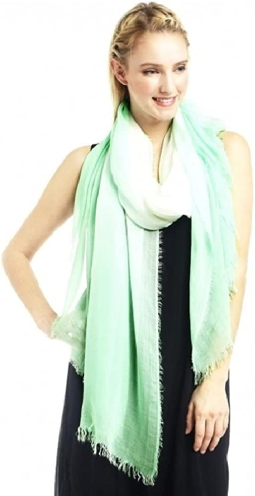 Look Collection Magnificent Shades Chic Ombre Style Scarf Shawl Sarong