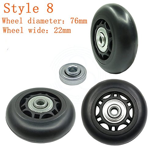 76mm wheels - 8