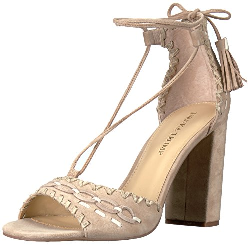 Ivanka Trump WoMen Karita Heeled Sandal, Light Natural Natural