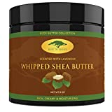 Facial Mask Oatmeal Homemade - (8 oz) Lavender Whipped African Shea Butter Cream - Pure 100% Raw All Natural Organic Moisture for Soft Skin and Natural Hair - Body Butter Improves Blemishes Stretch Marks Scars Wrinkles & Eczema