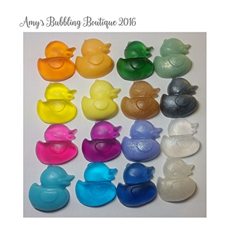 Baby Shower Favor - Rubber Duck Soap Gender Reveal Party Pack of 25