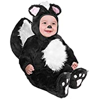 Disfraz de disfraz de bebe bebe bebe negro (18-24 meses)