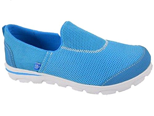 Foster Tela Footwear Donna In Turquoise Da Scarpe Ginnastica BqZnrWUBw