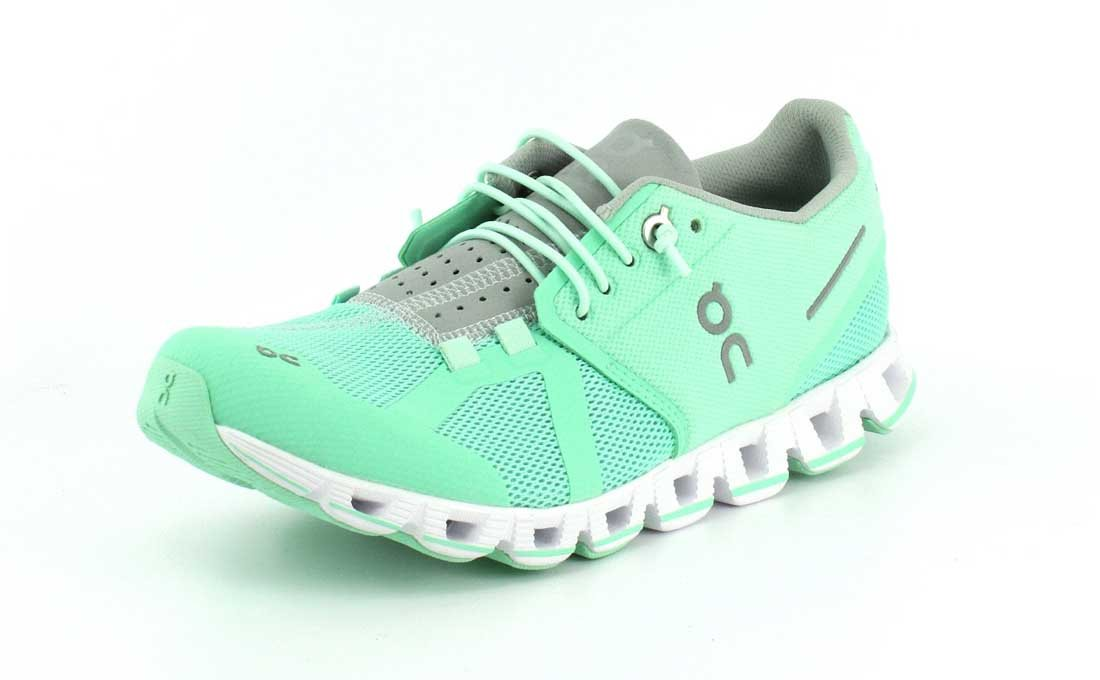 on Running Zapatillas on Cloud Denim/Blanco 36 EU|Verde