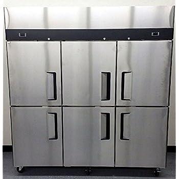 71  6 Door Refrigerator and Freezer Combo Stainless Steel Reach in Commercial Fridge / Freezer & Amazon.com: 71