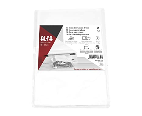 Amazon.com: Alfa Vacuum Packaging and Kitchen Bags, 15 x 24 ...