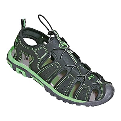 Altus Men's 63000CO71044 Sandal, Black/Green, Size 44: Clothing