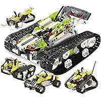 RCTecnic Kit Construcción Tanque Teledirigido, 5 Vehículos en