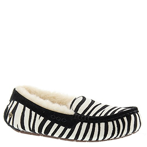 UGG Women's Ansley Exotic Zebra Size 9 Slipper by UGG (Image #1)