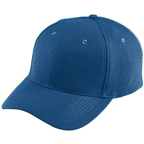 Augusta Sportswear Adult Adjustable Wicking MESH Cap OS Navy