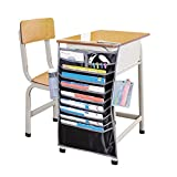 Desk Pocket Organizer Hanging Holder Table Book Storage Bag For Student DF