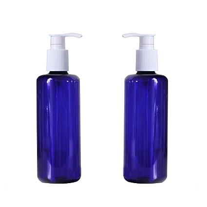 300 ml/10oz rellenable Empty Azul Bomba Botellas Tarros con ...