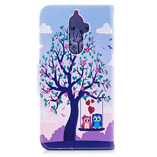 aérosol protection cuir K8 étui tree peint d'impression magnétique en avec fente avec Hozor carte en conception fermeture Flip pour de portefeuille Note PU cas Acacia Lenovo support Hnxp07