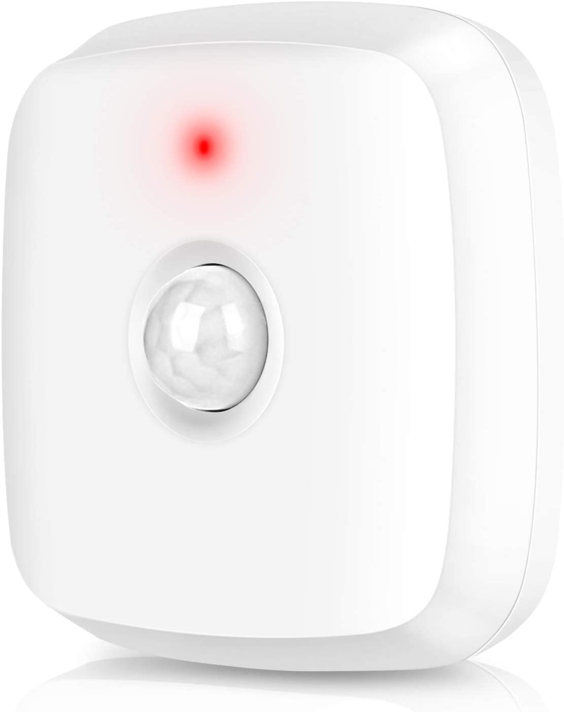 Ceiling Mount Smart Motion Sensor - Smart WiFi Motion Sensor with LED Indicator, Adjustable Angle, Compatible with The Smart Life System. Cell Phone Prompts and Alerts