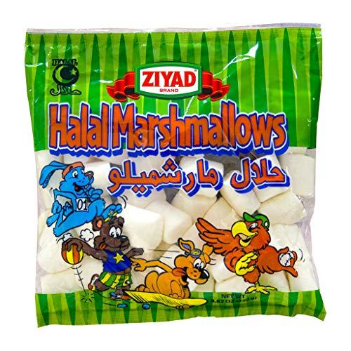 Ziyad Gourmet Halal, Full Size, Marshmallows, Egg-Free, Dairy-Free, Gluten-Free 8.82 OZ