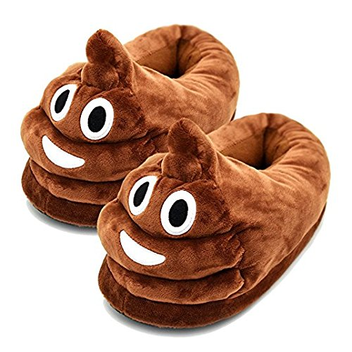 Emoji Poo Slippers for Teens