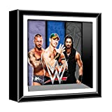 Silver Buffalo WE5506S WWE Orton, Cena, Reigns Wall Decor