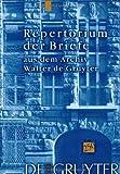 Repertorium aus dem Archiv Walter de Gruyter, Neuendorff, Otto, 311016521X
