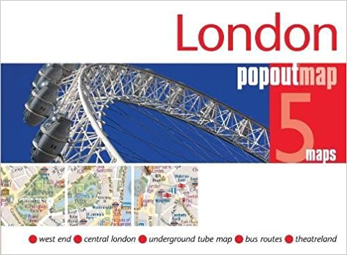 Street Map Of London City Centre.London Popout Map Pop Up City Street Map Of London City Centre
