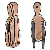 Tonareli Viola Case Cover For VAF Shaped Fiberglass Cases - VACCS 1005 Golden