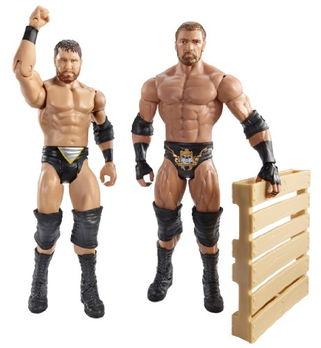WWE Battle Pack Triple H vs. Curt Axel with Pallet Action Figure, 2-Pack by WWE