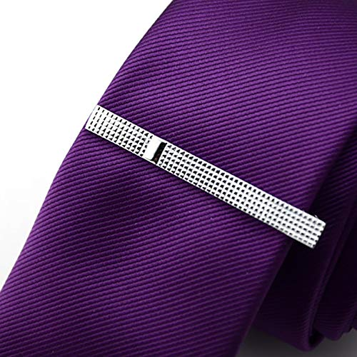 Oldlila 1 pcs Tie Clips Gold Simple Pattern Tie Clips For Men's Business Wedding Clips by Oldlila (Image #8)