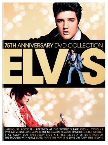 Elvis 75th Anniversary DVD Collection (17 Films including Elvis on Tour / Jailhouse Rock / Viva Las Vegas / It Happened at the World's Fair and This Is Elvis) by Warner Bros