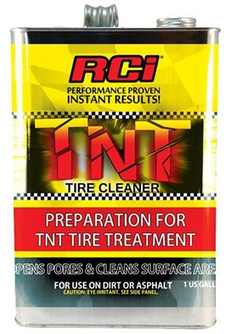 NEW RCI TNT TIRE CLEANER, RACING TIRE PREPERATION FOR SOFTENER, 1 GALLON, TIRE PREP CLEANS SURFACE, OPENS PORES, AND REMOVES GLAZE Southwest Speed