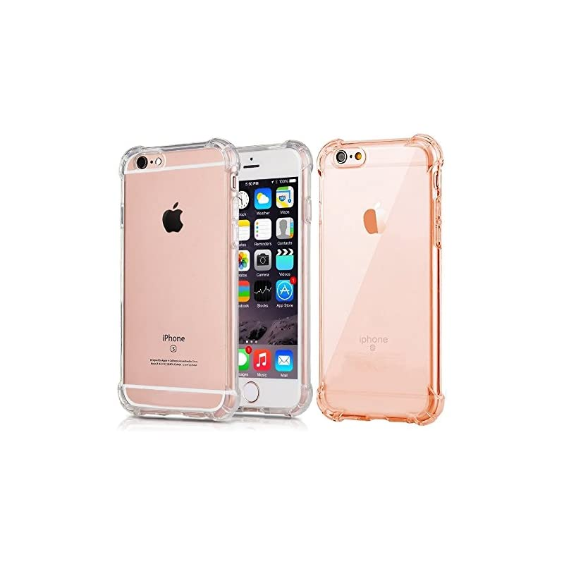 [2Pack] CaseHQ Crystal Clear case for iP